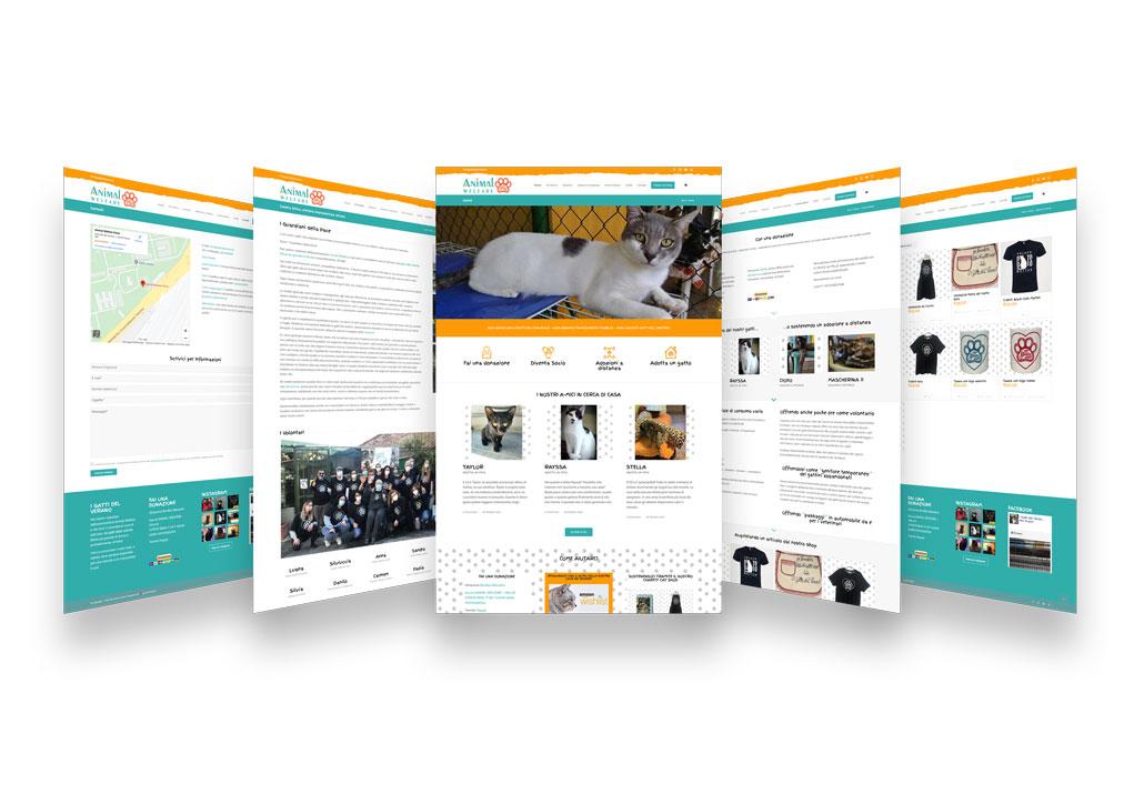I gatti del Verano pagine sito web